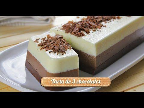 Tarta De Tres Chocolates | Supermercados MAS Blog