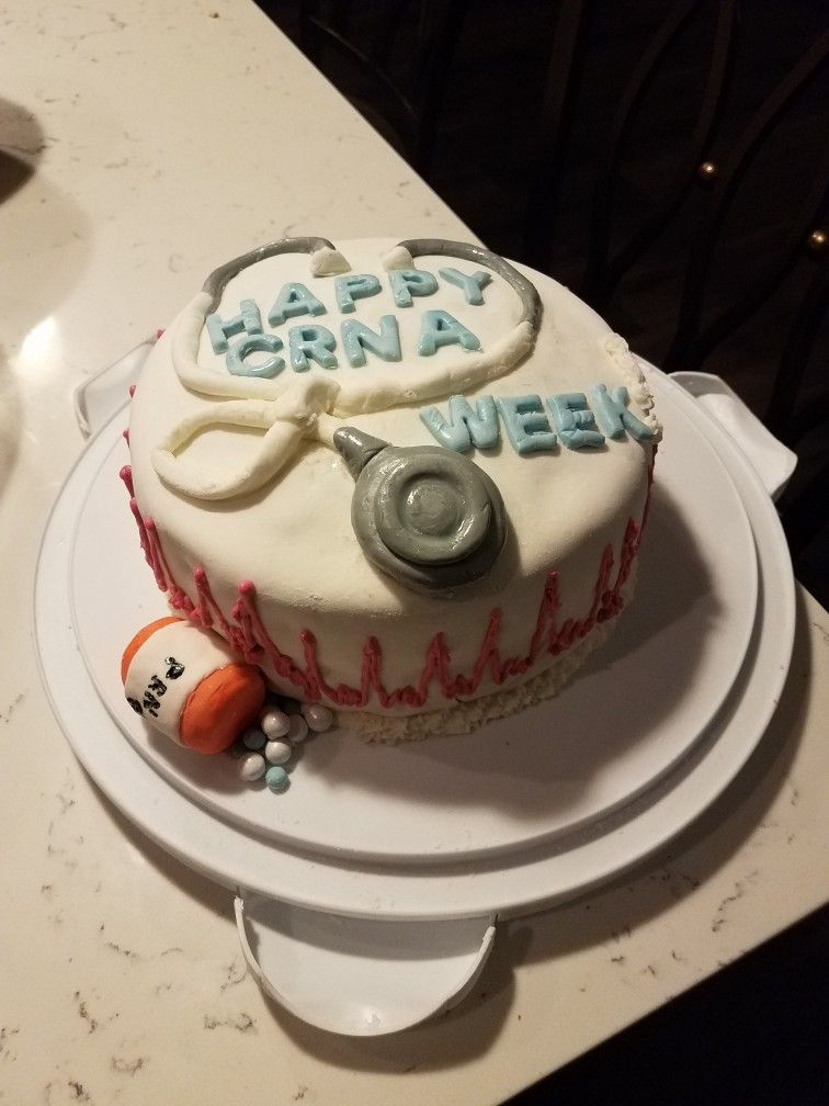 For CRNA week Crna week, Cake, Desserts
