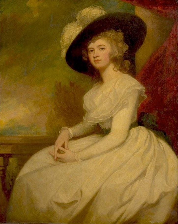 ca. 1787-1791 Mrs. Bryan Cooke (Frances Puleston, 1765-1818), George Romney (Metropolitan Múzeum - New York, New York USA) | Grand Női | gogm