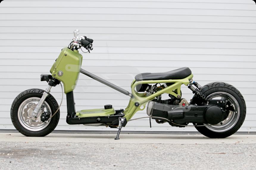 "Popolare Ripple"" Custom Honda Ruckus   Street Cub. Underbone   Pinterest  ZL89"