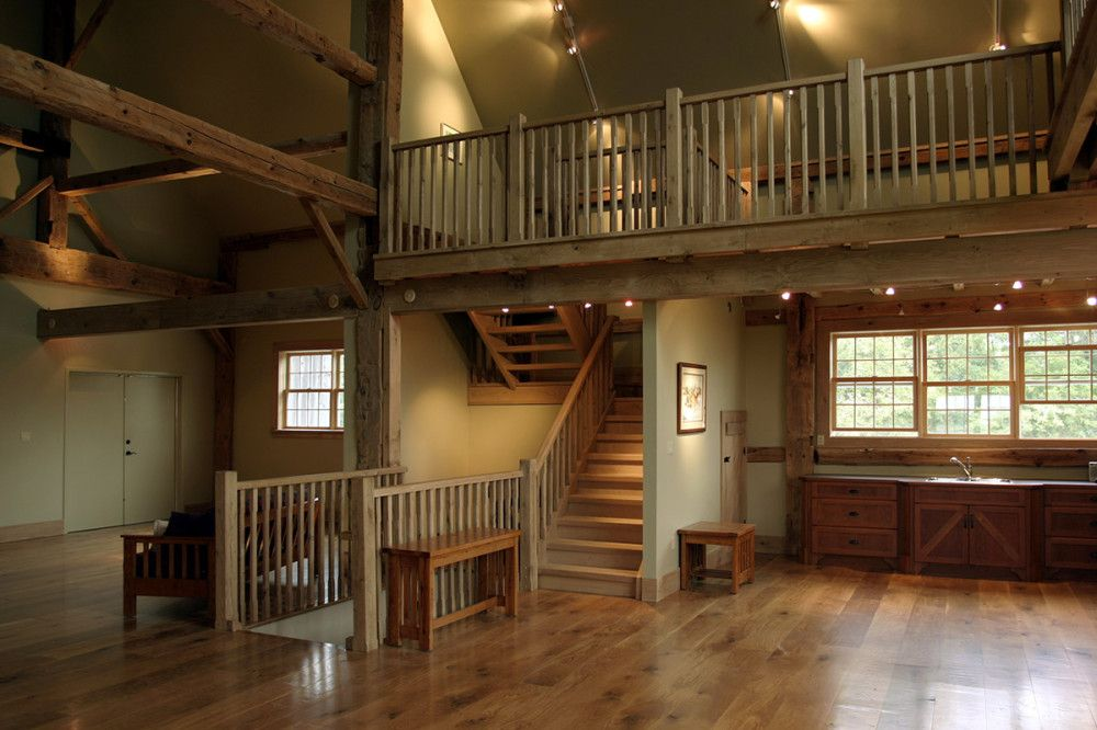 Barns Renovated Into Homes This 100 Year Old Timber