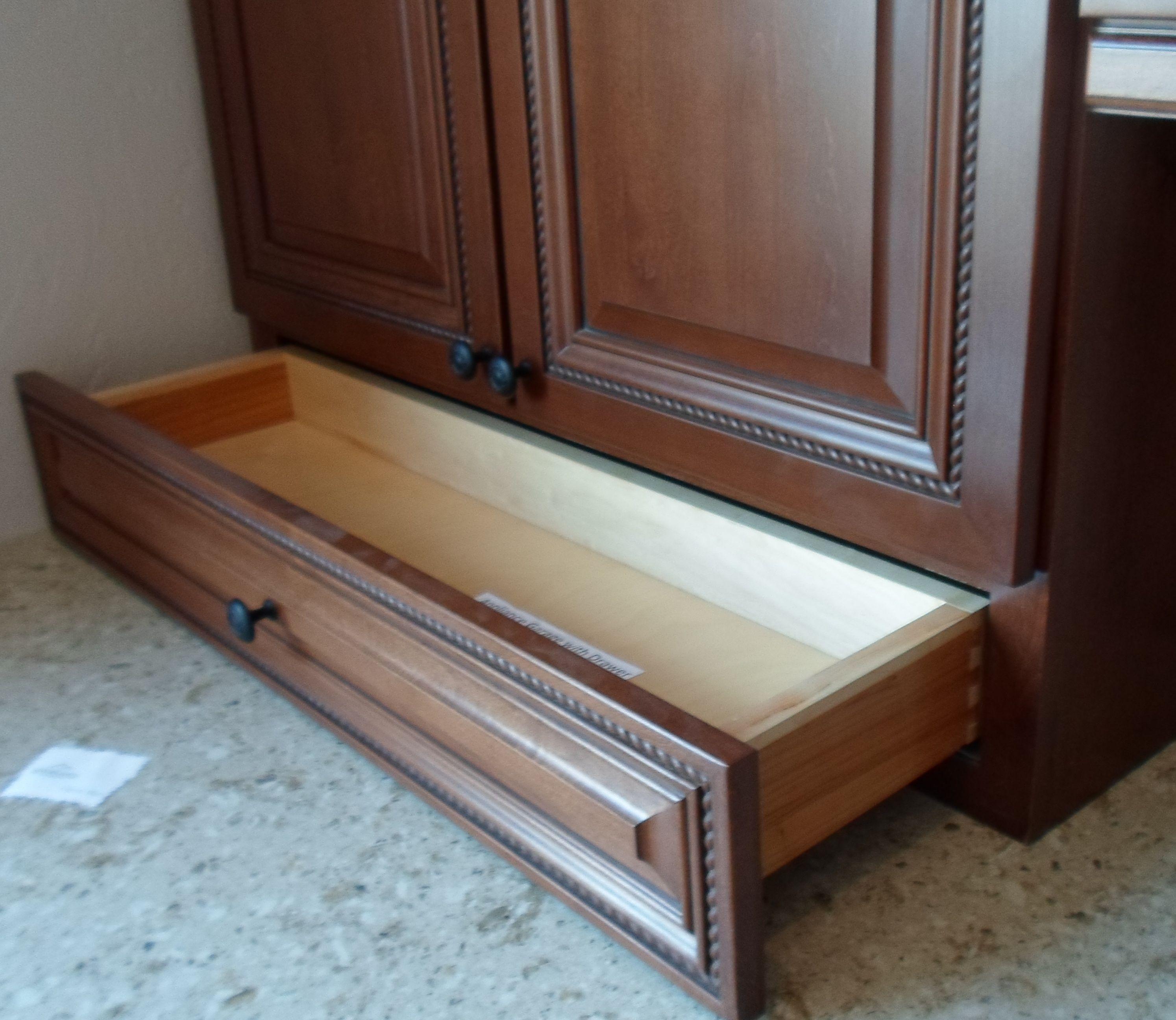 Karman Brand Alder Cabinets Stanton Door Style With Cognac Finish And Brown Glaze Alder Cabinets Cabinet Home Decor