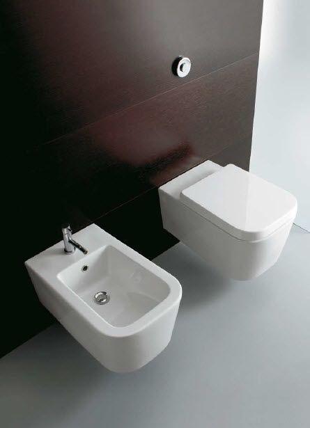 wall-hung bidet STONE 4536 Ceramica GLOBO Bathroom Pinterest - waschbecken für küche