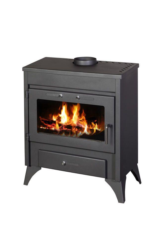 Fireplace Design wood burning fireplace heat exchanger : CASTMASTER BELVOIR WOOD BURNING LOG BURNER MULTIFUEL CAST IRON ...