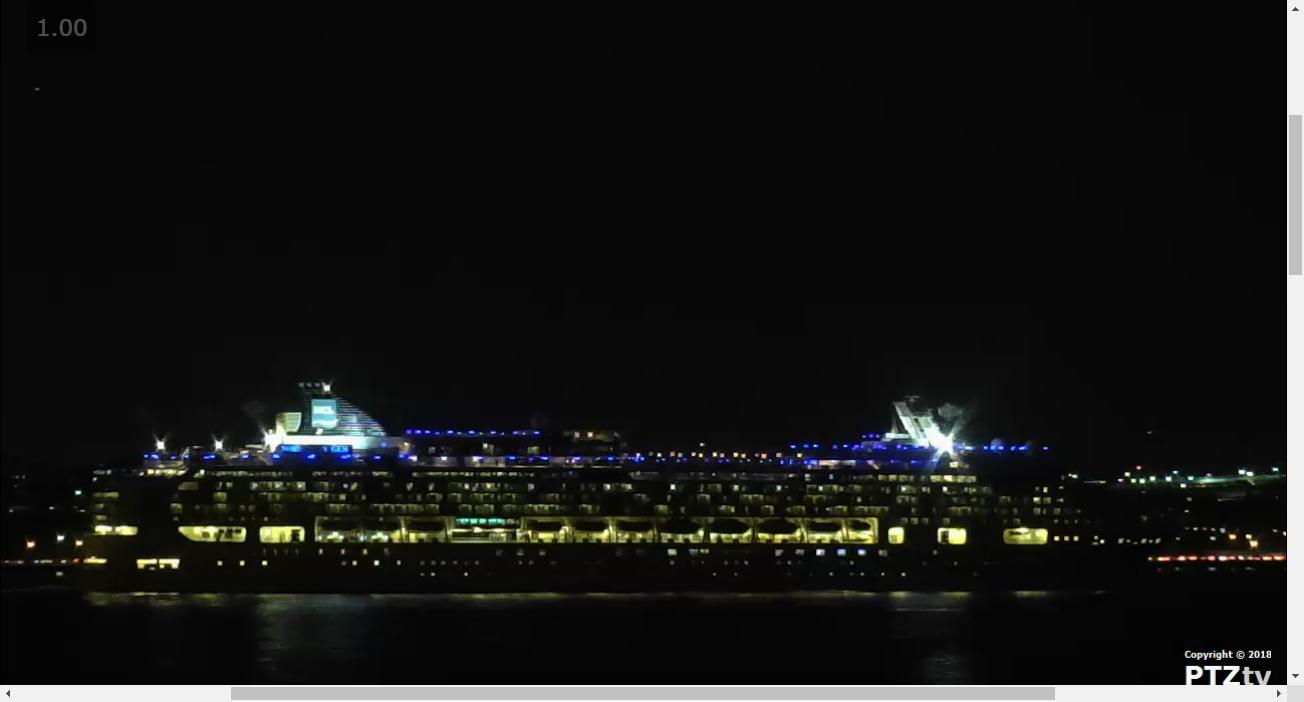 NY Harbor Webcam A New York Harbor Scenic And Cruise Ship Web - Cruise ship web cameras