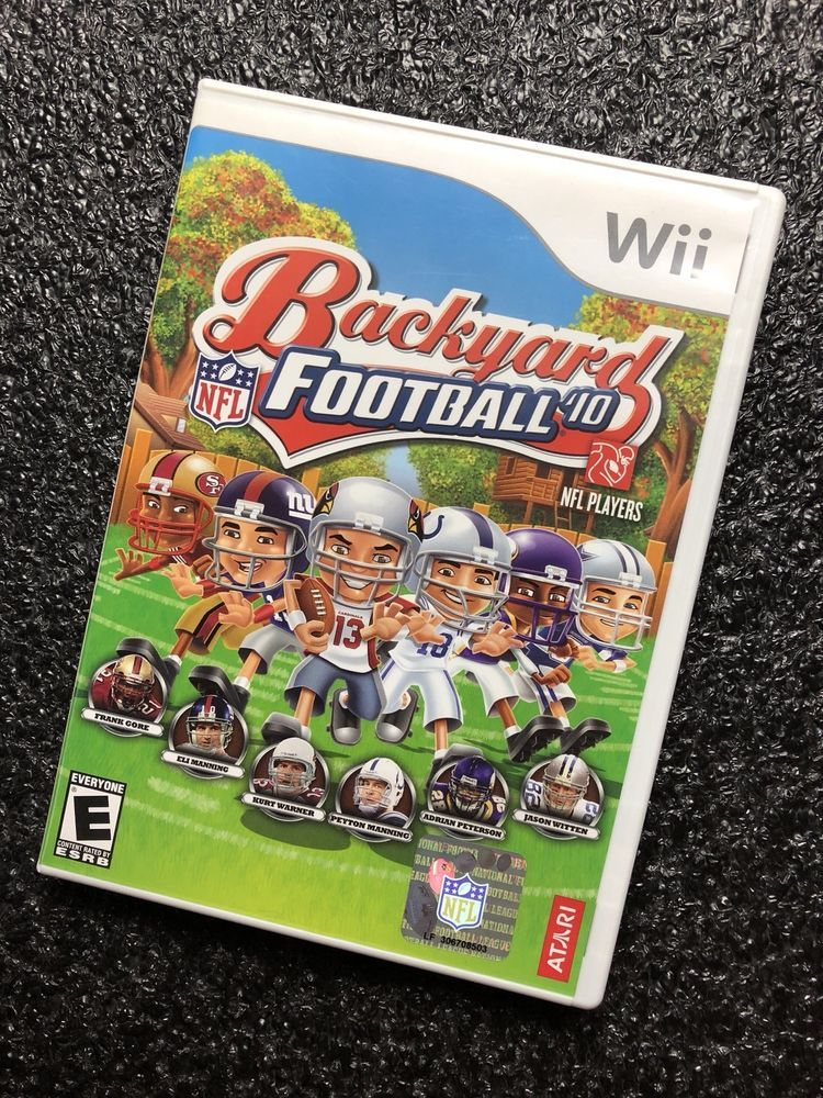 Backyard Football Video Game nintendo wii backyard football 2010 videogames, nfl players | http