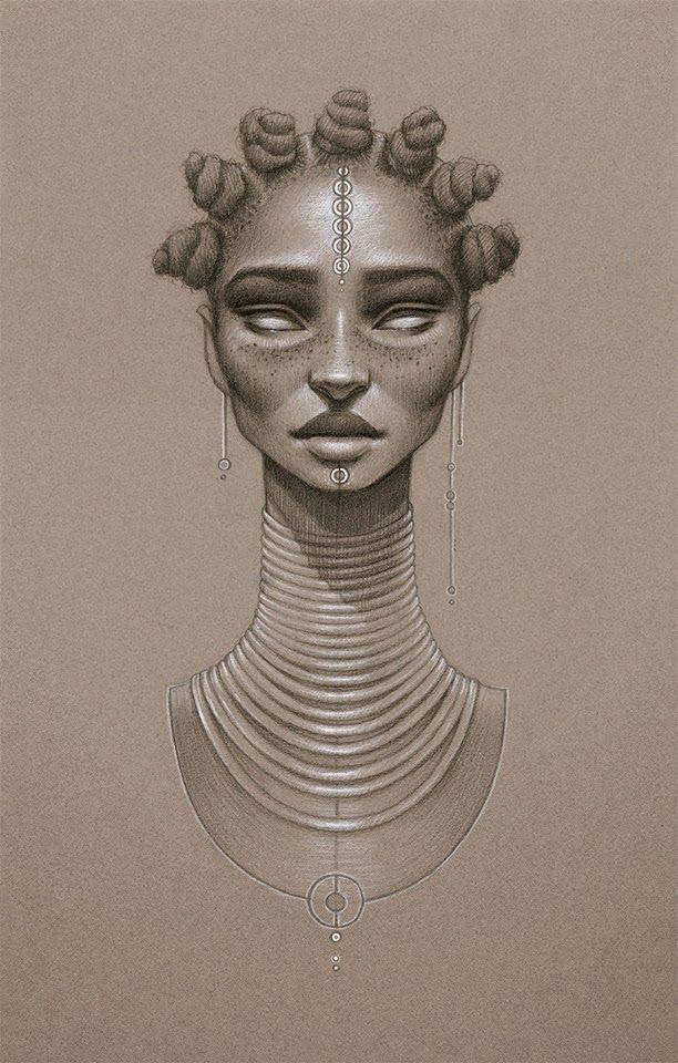 FAB Art: Moondust, Artist Sara Golish's Ode to Afrofuturism and Natural Hair