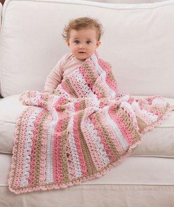 Las mantas de ganchillo de lana para cobijarte con estilo