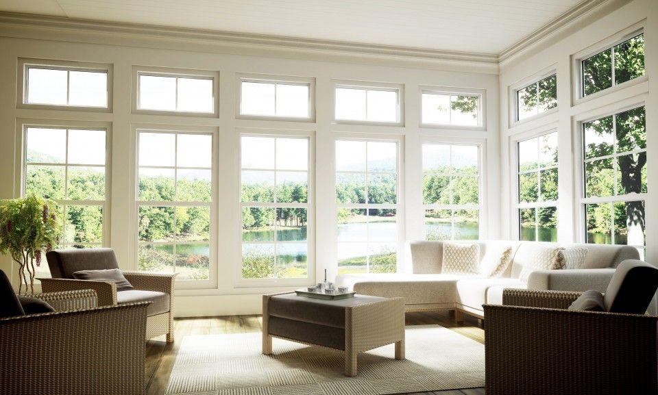 Upper Window Can Open Tilt Open. Good Height Off Floor With 9 Foot Ceiling  Or Higher