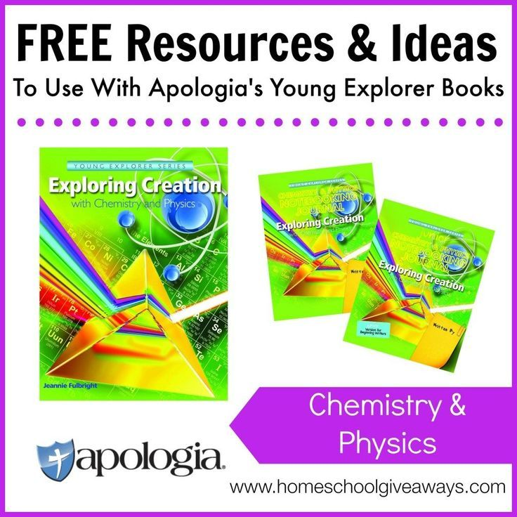 If you\'re using the Chemistry & Physics books from the Apologia ...