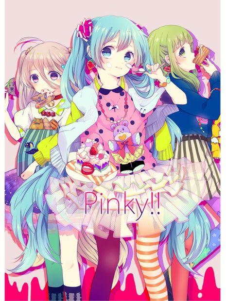 ANIME ART Clothes Cute Fashion Colorful