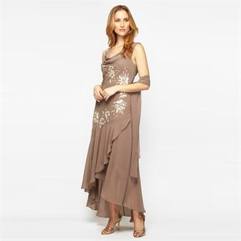 Gorgeous Gown With Wrap From Von Maur By Alexis Fashions For