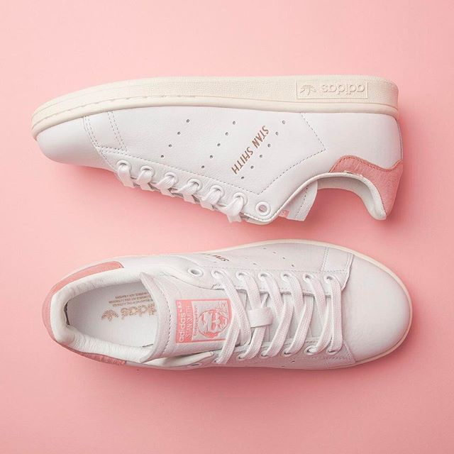 881770381a4da1 New and  exclusive  adidasoriginals Stan Smith in White Ray Pink Rose Gold.   Shop straight from our bio.  newin  adidas  stansmith  ownit2017  friyay