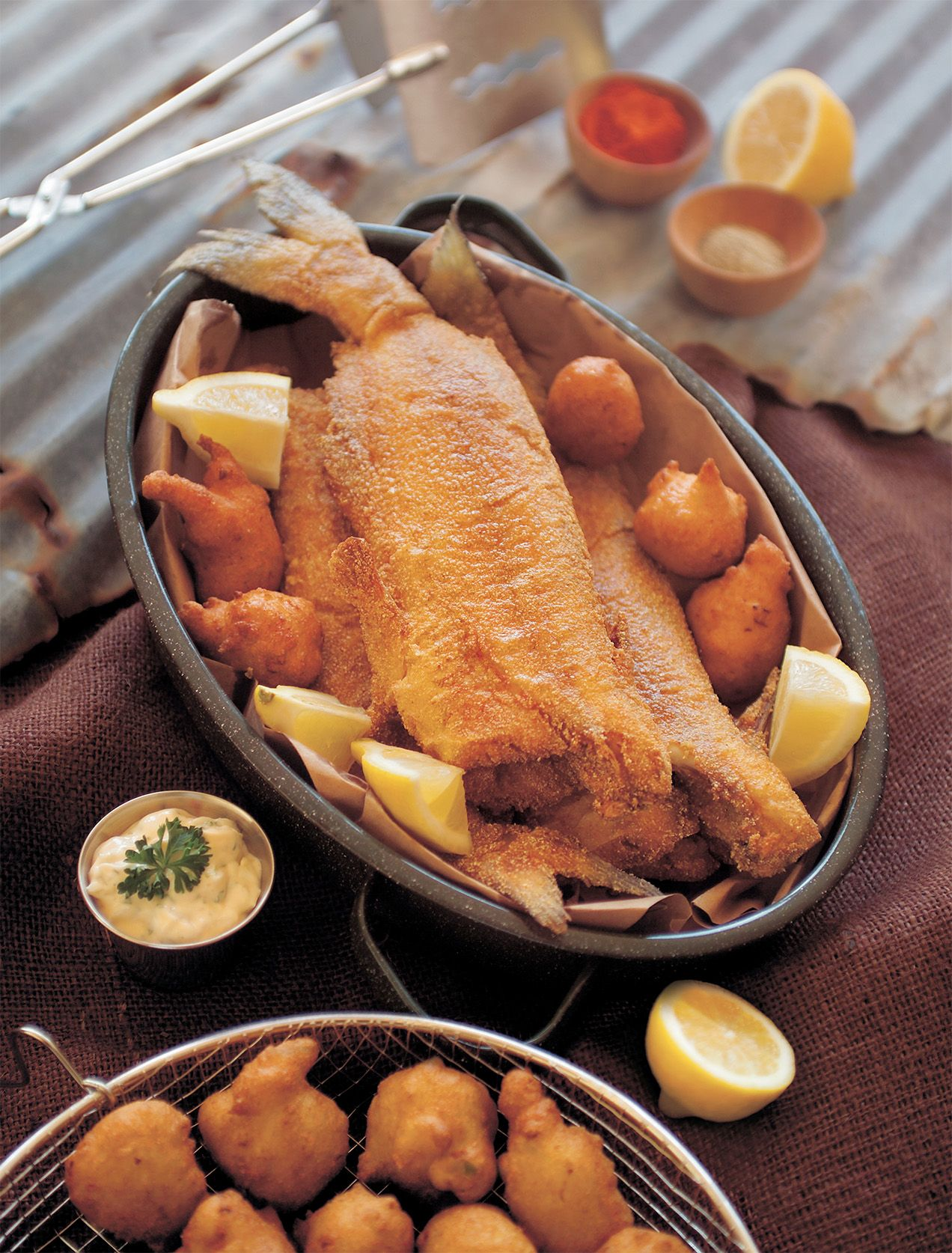 Whole Fried Catfish Photo © Terrell Creative Food