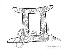Zodiac Coloring Pages work ideas Coloring pages, Free