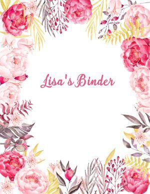 Free Binder Cover Templates | Binder Cover Template | Pinterest ...