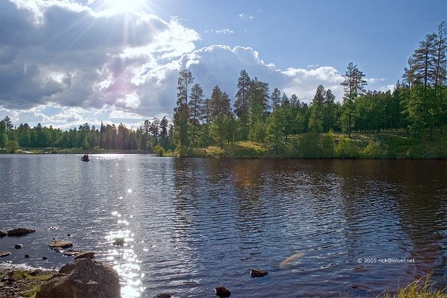 Little Bear Lake Pinetop Arizona In 2019 Most Beautiful