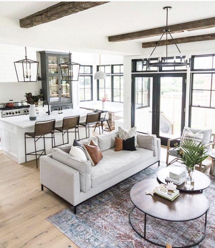78 Cozy Modern Minimalist Living Room Designs In 2020 Open Living Room Design Farm House Living Room Modern Minimalist Living Room