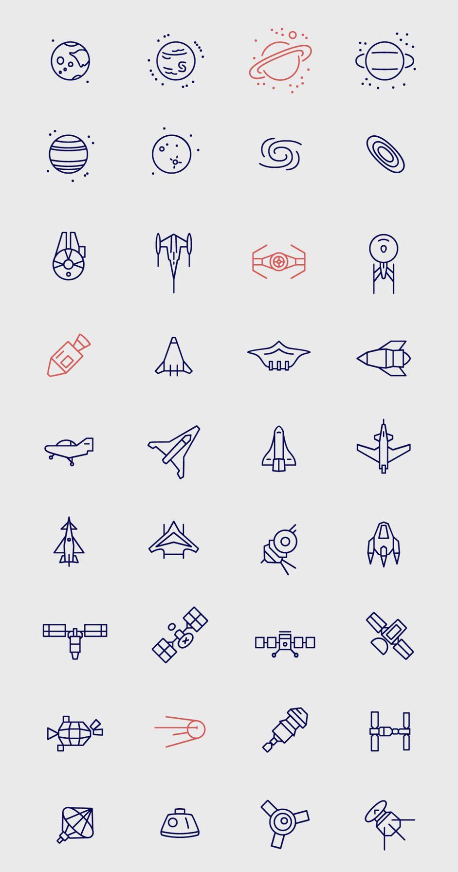 Infinity Icon Set