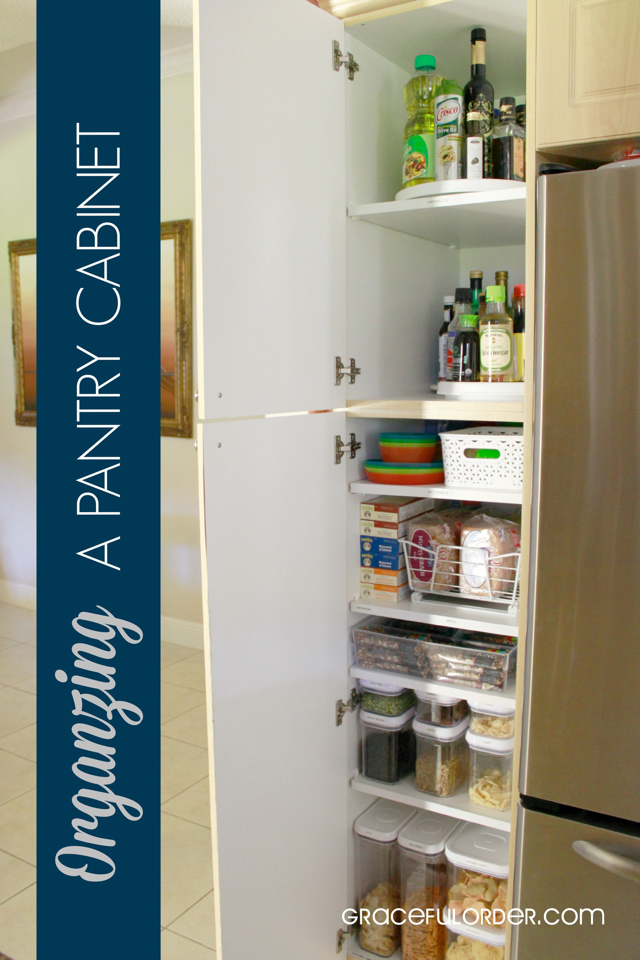 Delicieux Organizing A Deep Pantry Cabinet
