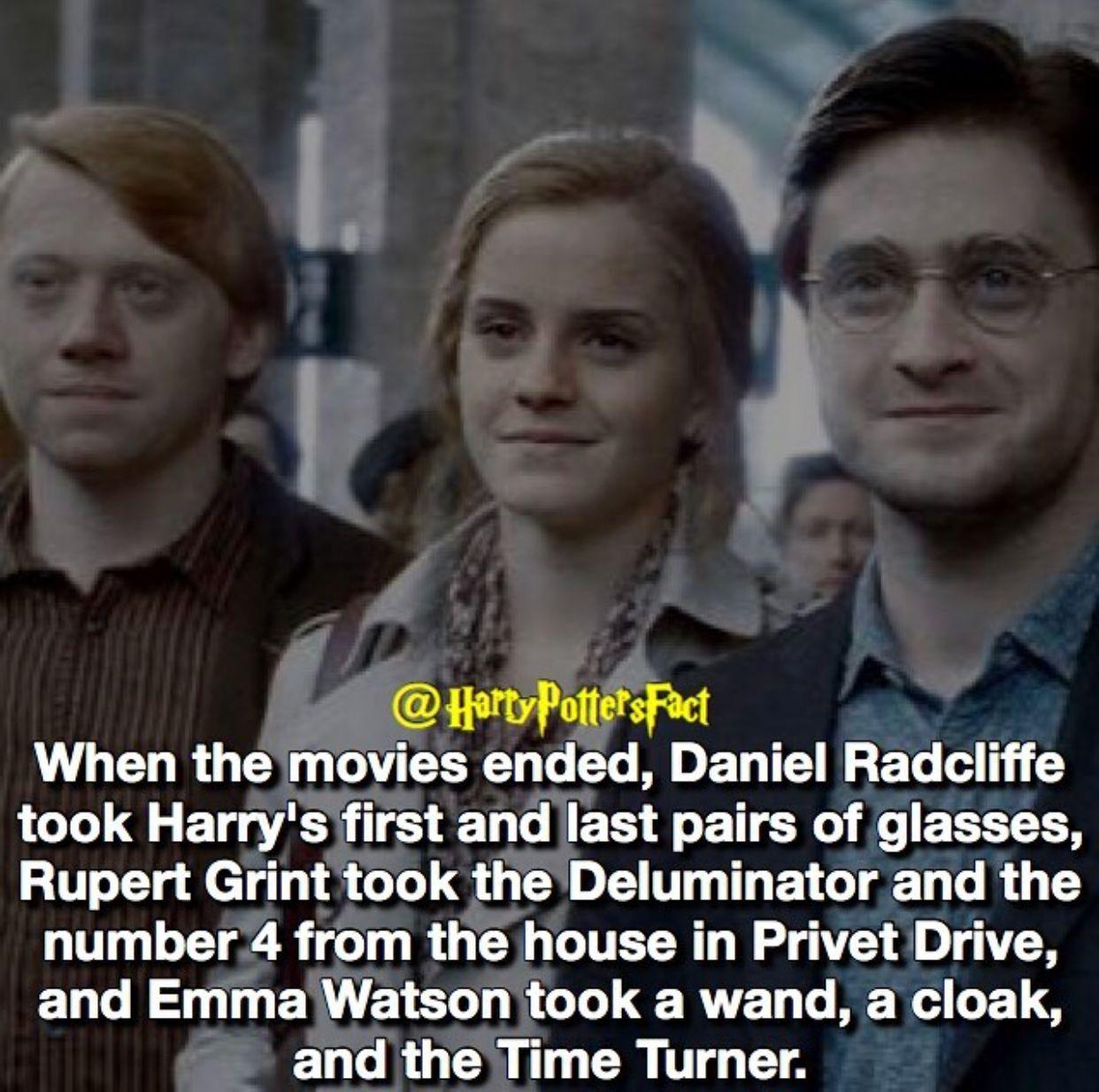 Don T Know If It S True But That S Cool If It Is Harry Potter Feels Harry Potter Facts Harry Potter Wizard