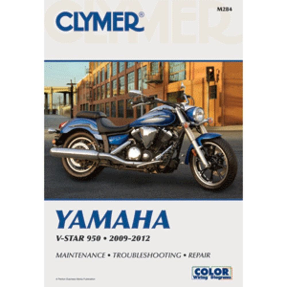 Clymer Yamaha V Star 950 2009 2012 Products Pinterest 1986 Fazer Wiring Diagrams Color Motorcycle Repair Manuals Are Written Specifically For The Do It Yourself Enthusiast