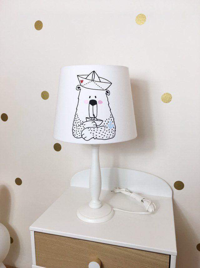 Tischlampe Kinder, Tischlampe Kinderzimmer Bär