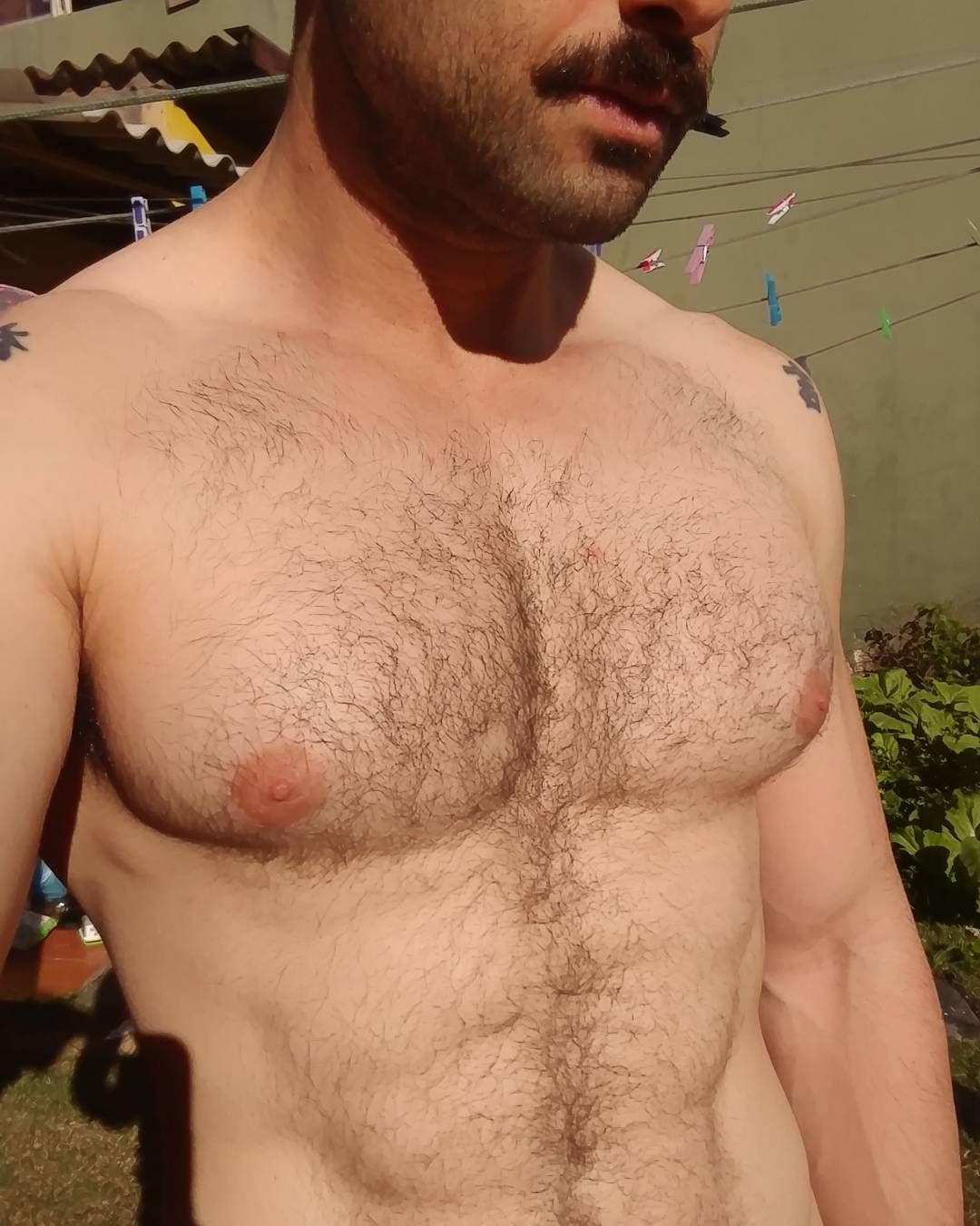 Chest hair trigger gallery hairy