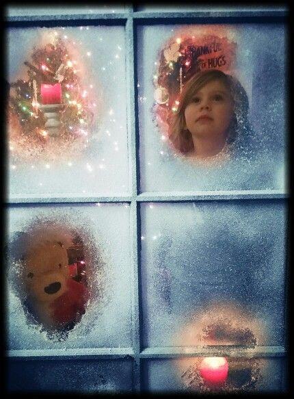 Christmas. Waiting for Santa. Kids Photography.