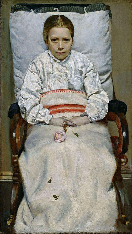 Christian Krohg Sick Girl 1881 Google Art Project Art Scandinavian Art