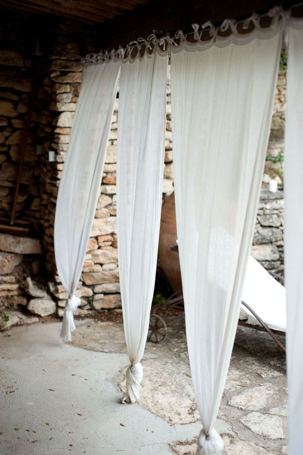 The Cypresses Wedding by AMBphoto | Pinterest | Sheer curtains, Spa ...