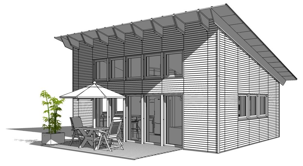 SI-MODULAR – BEISPIELE | small houses | Pinterest | Perspektive ...