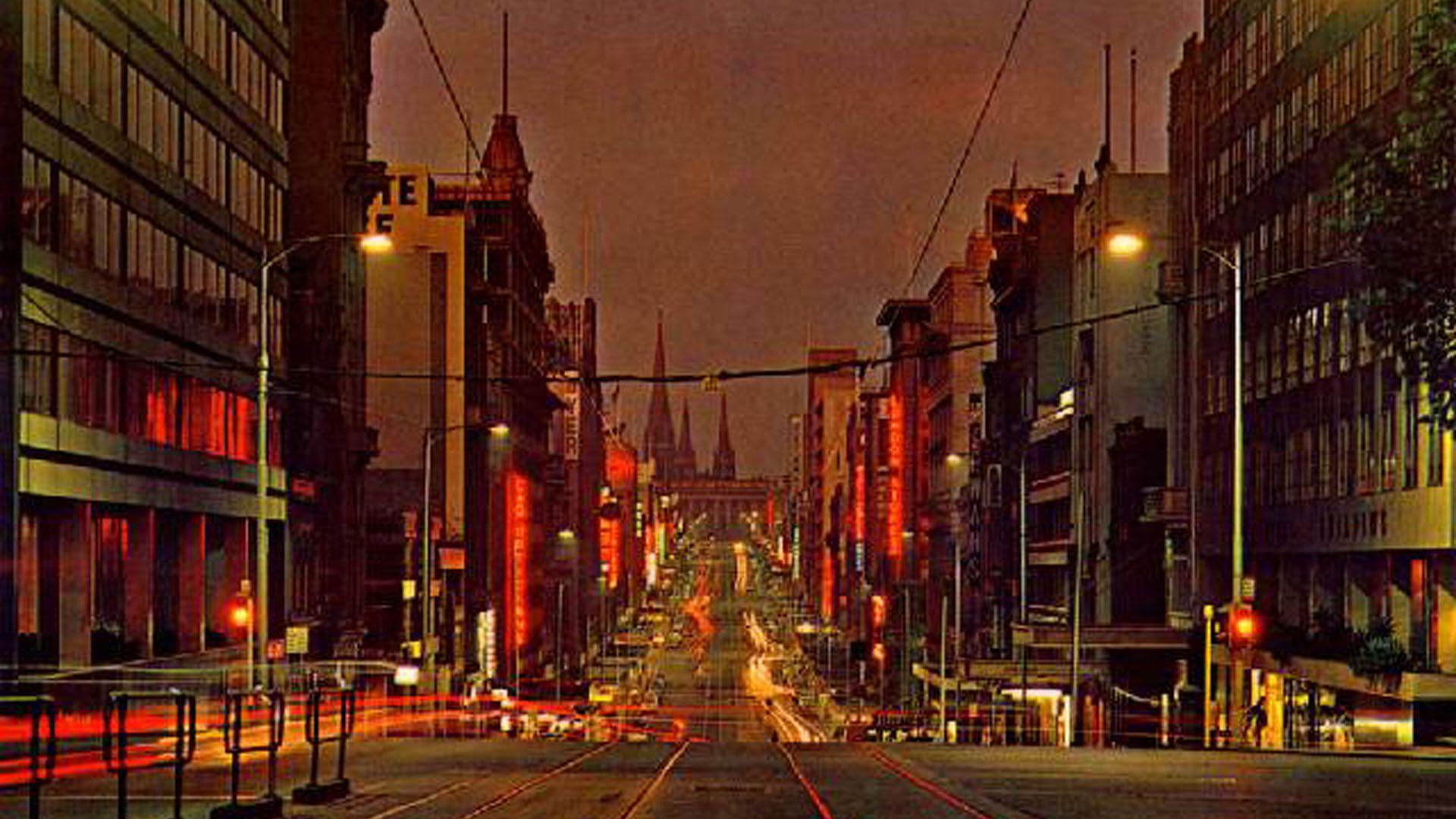 Bourke Street Walk In Australia