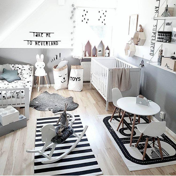 Kinderzimmer ideen für zwei babys  Sieh dir dieses Instagram-Foto von @finabarnsaker an • Gefällt 673 ...