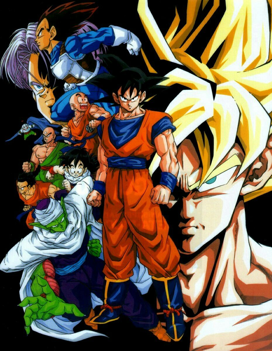 Los Guerreros Z Dragones Personajes De Dragon Ball Dragon Ball