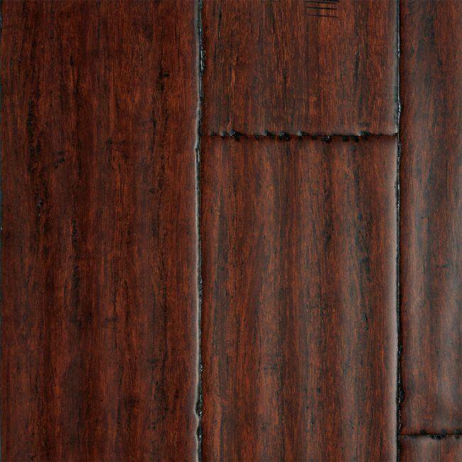 Morning Star 9 16 X 5 1 8 Nantong Strand Handscraped Bamboo Nantong Bamboo Lumber Lumber Liquidators