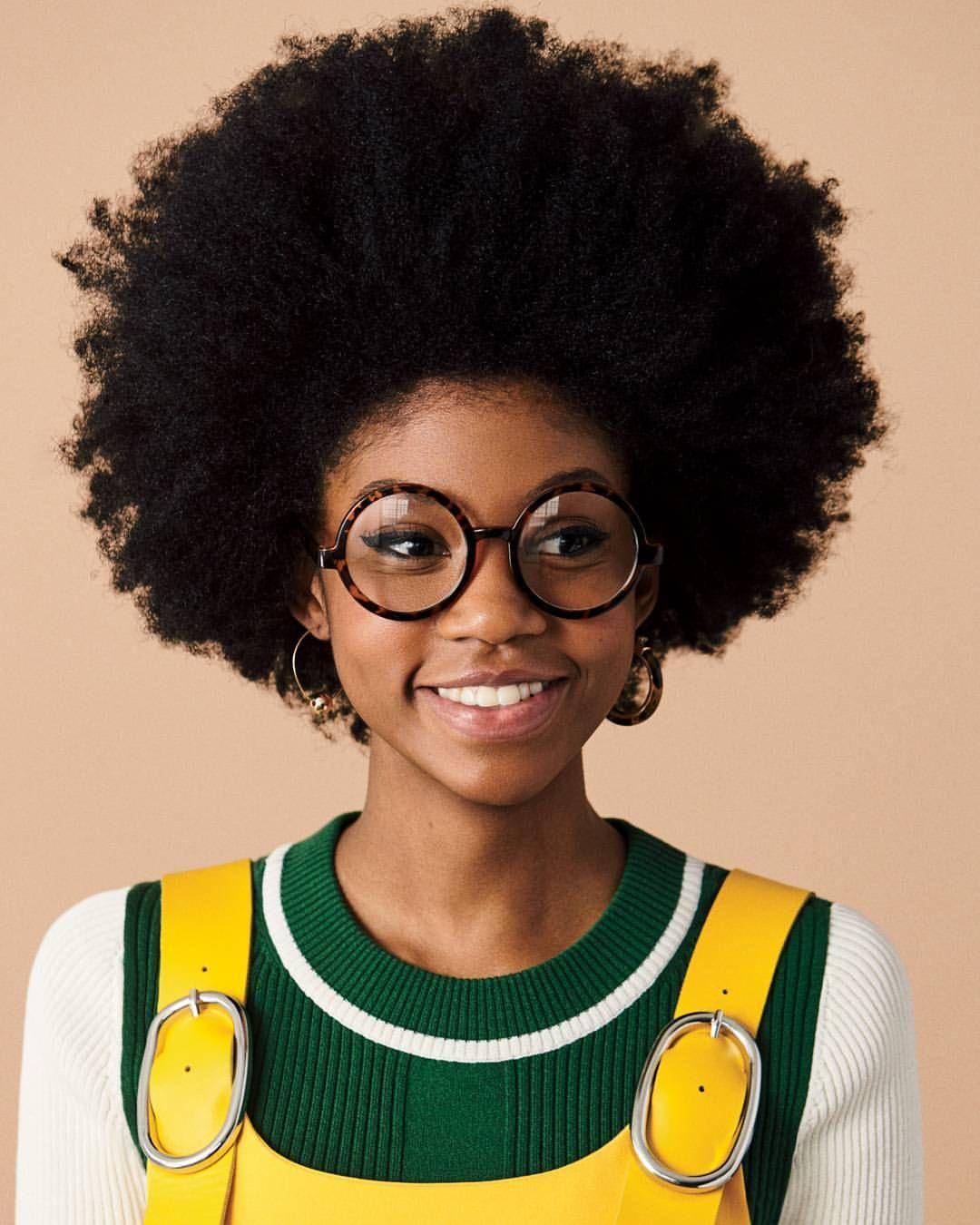ChyCVRTER  Cheveux naturels  Pinterest  Natural Black girls