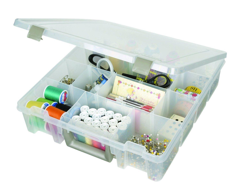 Amazon.com: ArtBin Super Satchel Removable Divider Box - Art Craft Storage Container, 9007AB