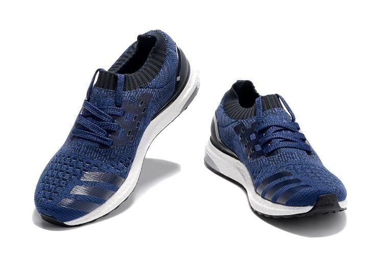 check out f6876 6f233 Adidas Ultra Boost Uncaged Mænd Blå Hvid