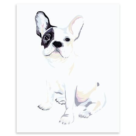 Chloe Croft - Bulldog, Limited Edition Print, 30 x 40cm. Promotion ends at 6.30am Wednesday 14th November
