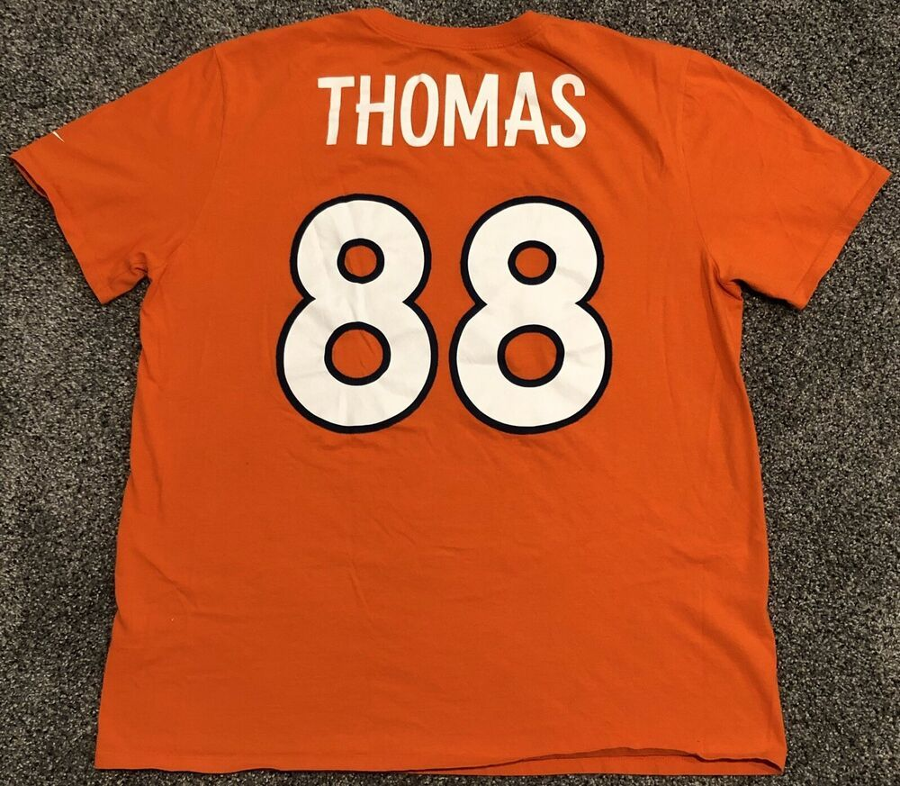 buy online 5bf66 9efbe Details about Demaryius Thomas #88 Denver Broncos Nike T ...