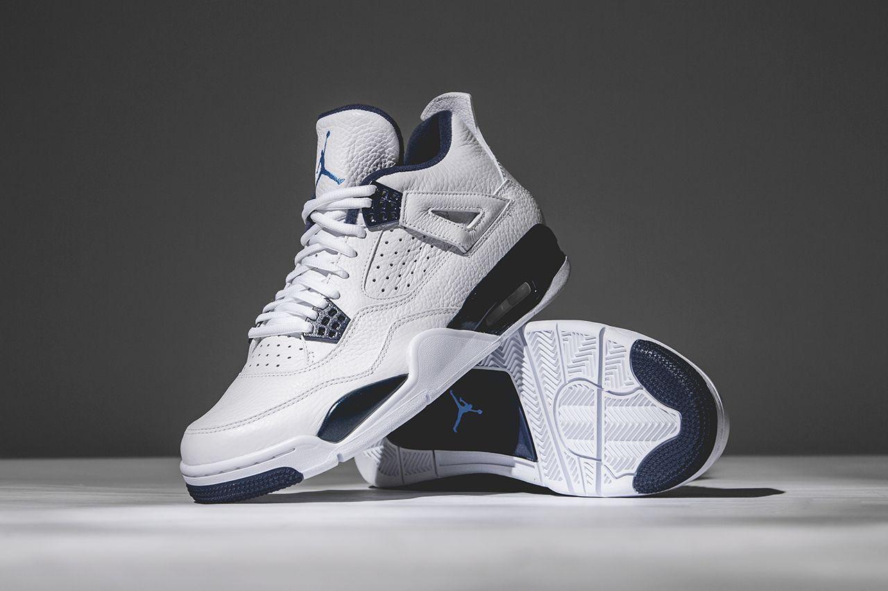 e39baf249c3691 Cheap price Nike Jordan 4 Cheap sale White Legend Blue Midnight ...