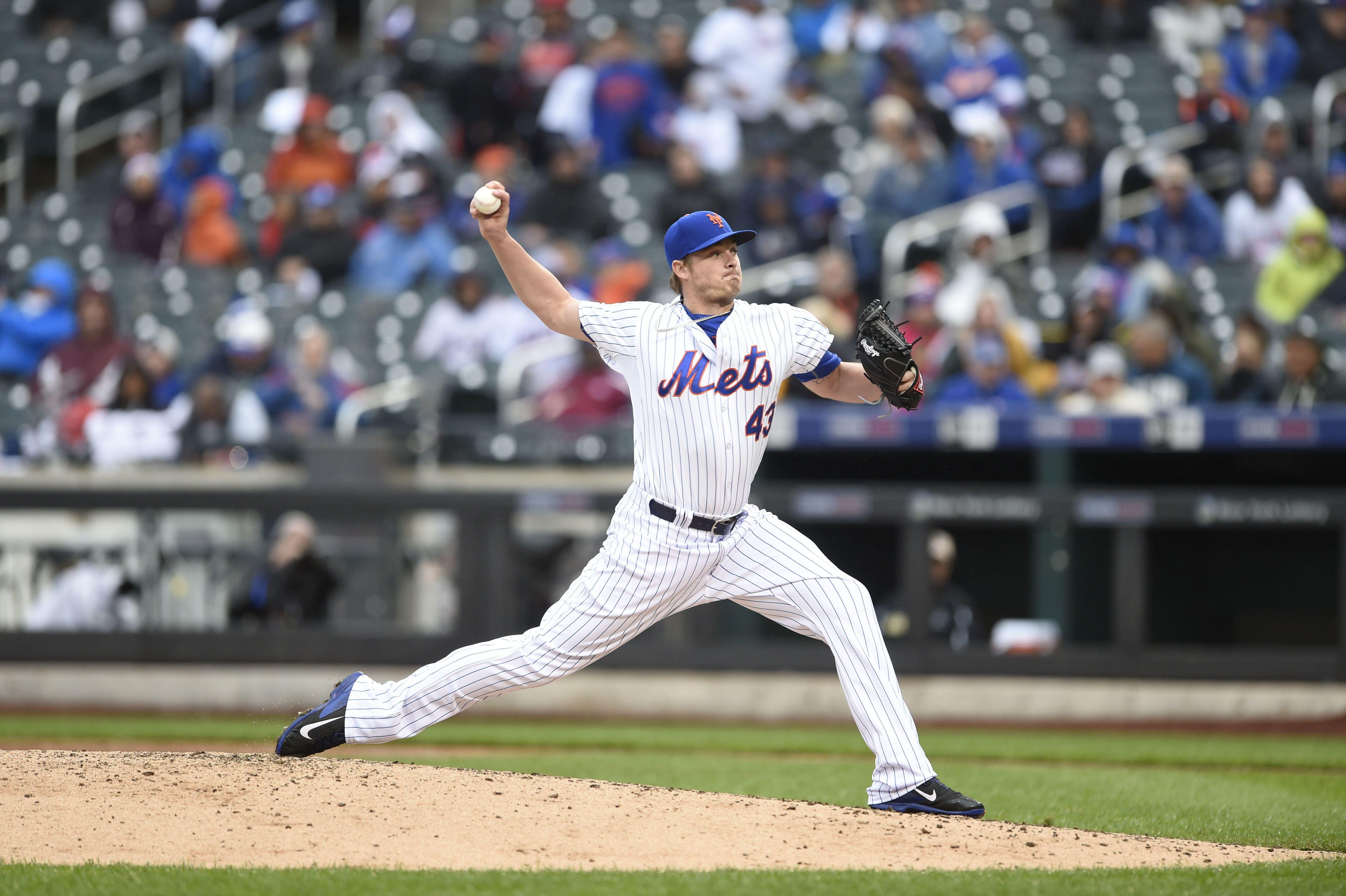 Addison Reed RHP New york mets, Mets, Baseball