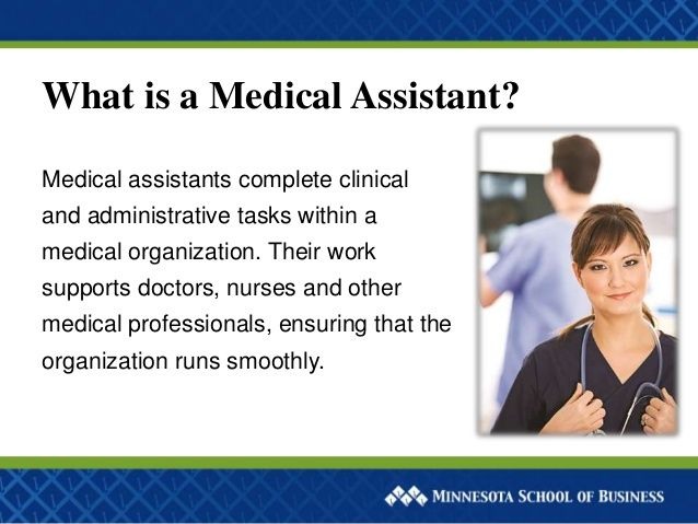 What Is A Medical Assistant Whyccc  Why Ccc Is Right For Me