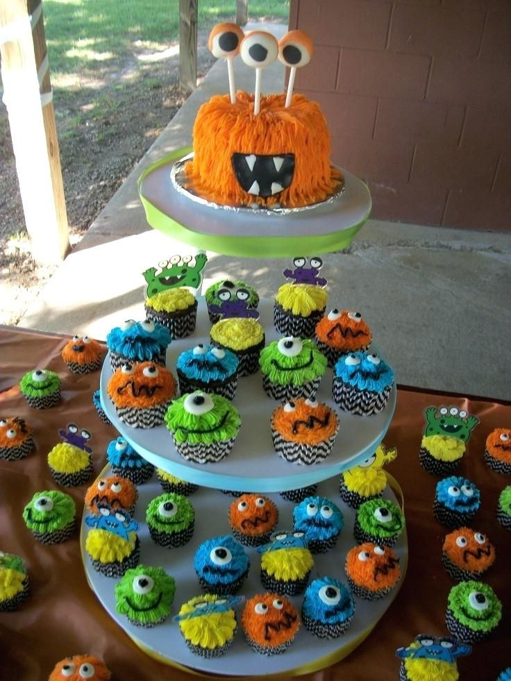 Monsters Inc First Birthday Theme Best Monster Parties