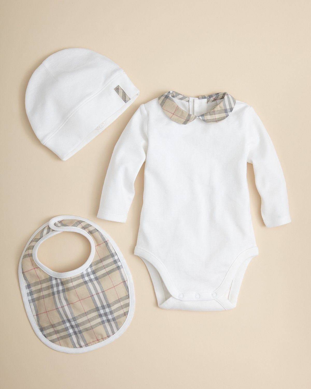 baby burberry hat