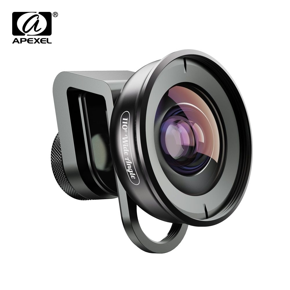 APEXEL HD Camera Phone Lens kit 110 degree 4K Wide angle lens CPL starfilter for iPhonex Samsung s9 all smartphone drop-shipping #wideangle