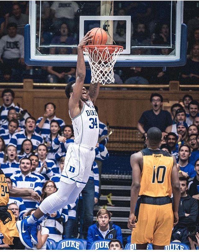 Wendell Carter Duke, Wendell, Duke basketball