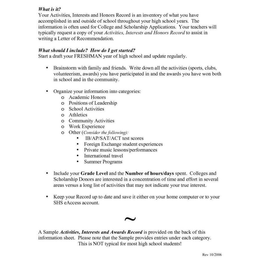 Extracurricular activities on resume lovely cover letter