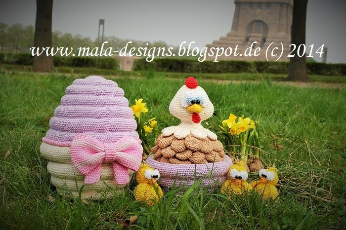 osterei zum bef llen h kelanleitung von mala designs auf amigurumi und co. Black Bedroom Furniture Sets. Home Design Ideas